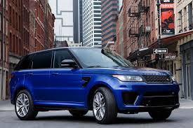 range rover blue 2016 land rover range rover sport svr first drive review digital