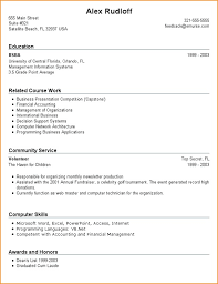 High Resume Template No Work Experience Resumes For High Students With No Work Experience Template