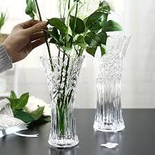 large glass transparent vase living room decoration flower