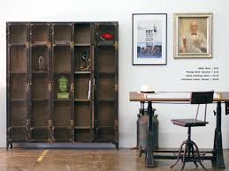 Locker Bookshelf Allentown Locker Cabinet Industrial Home Office Los Angeles