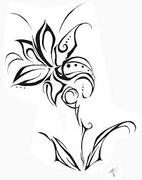 best 25 tribal flower tattoos ideas on pinterest tribal tattoos