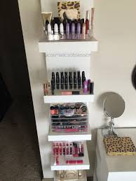 storage and organization makeup storage and organization ikea lack shelf unit makeup