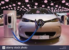 renault zoe electric renault zoe stock photos u0026 renault zoe stock images alamy