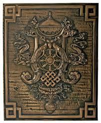amazon com ashtamangala eight auspicious symbols buddhist dharmic