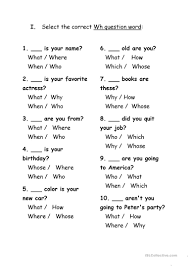 esl printable word games for adults exercises wh question words worksheet free esl printable