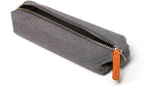 pencil bag zippered pencil field notes