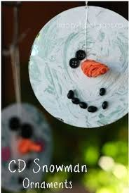crafts for second and third graders snowman
