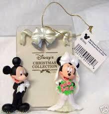 disney mickey minnie wedding photo frame ornament new