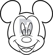 how to draw mickey mouse for kids step by step drawing guide by