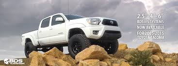 suspension lift kits for toyota tacoma toyota tacoma lift kits by bds suspension