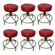 vintage u0026 used red stools chairish