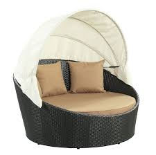 siesta all weather wicker canopy daybed walmart com