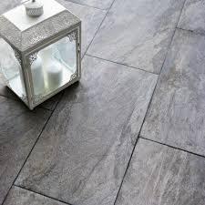 Diy Floor L Indus Grey Effect Porcelain Wall Floor Tile Pack Of
