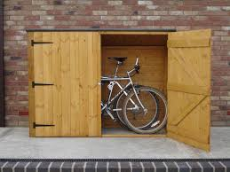 3 bike storage shed blue carrot com