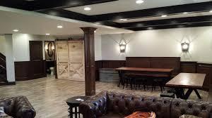 finished custom basement dublin basements unlimited