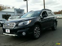 subaru outback black interior 2015 crystal black silica subaru outback 3 6r limited 98930332