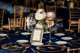 navy blue table linens chelsea and alexander s regal winter wedding events by gisele