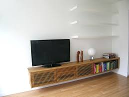 living room media furniture floating media cabinet and shelves contemporary living room