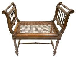 antique wooden bench seat cane seat bench antique wood with indoor benches by seats doozo info