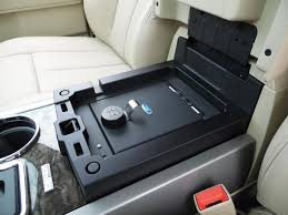 ford edge accessories vehicle safe by console vault the official site for ford accessories