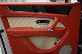bentley bentayga red interior 2018 bentley bentayga black edition stock b1299 for sale near