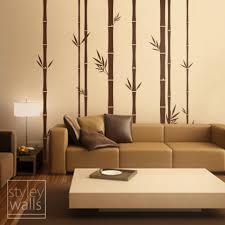 decorating ideas elegant living room decoration using bamboo
