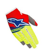 red motocross boots 2018 alpinestars techstar screamer blue yellow red motocross gear