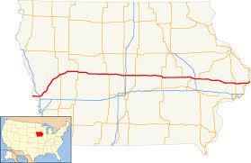 Iowa State University Map U S Route 30 In Iowa Wikipedia