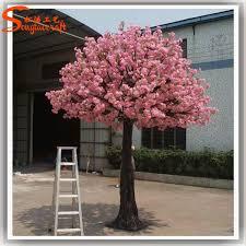 silk ornamental cherry blossom tree artificial trees