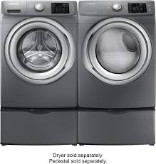 Kenmore Washing Machine Pedestal Samsung 4 2 Cu Ft 9 Cycle High Efficiency Steam Front Loading