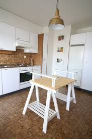 diy ikea kitchen island an alternative kitchen island ikea hackers