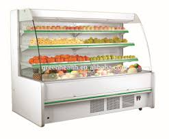 professional design fruit u0026 vegetable display refrigerator showcase
