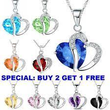 silver chain pendant necklace images Fashion necklaces pendants ebay jpg