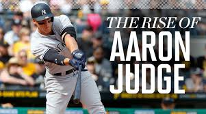 Aaron Judge Yankees Slugger Becomes Tallest Center Fielder - who is aaron judge college family age height highlights si com