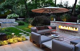 Designer Patio Geometric Design In Outdoor Spaces Regarding Designer Patio