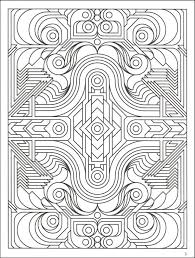 free printable geometric coloring pages cute geometric coloring