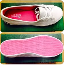 lacoste boots womens canada loving the pink on the inside outside on this lacoste shoe