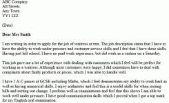cover letter examples for online applications collection of