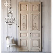 home incredible pair of hand painted french interior antique doors
