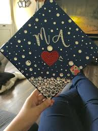 medical assistant graduation cap decor made by cristal soto