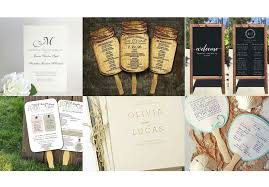 programs for a wedding top 10 best wedding programs to buy online