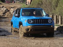 jeep renegade sierra blue review off road and on road characteristics both strong in 2015