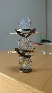 Most Amazing by This Guy Stacks Coins In The Most Amazing Precise Way Ever So