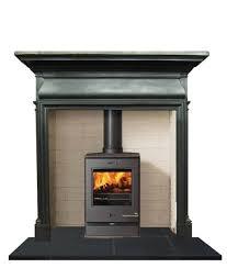 antique art nouveau cast iron mantel fireplace surround