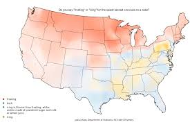 how do you say map in how do you say pecan mapping food dialect trends across the u s