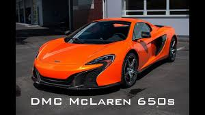 orange mclaren rear mclaren carbon fiber side skirts u0026 rear diffuser by dmc youtube