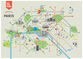 Paris France Map by Map Of Paris With Attractions New Zone