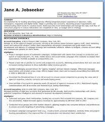 good resume for accounts executive responsibilities for marketing sle resume account executive advertising creative resume