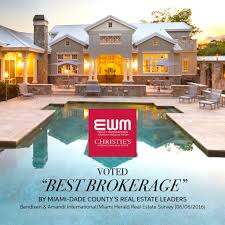 ewm voted best brokerage by miami dade county u0027s real estate leaders