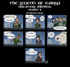 Legend Of Korra Memes - the legend of korra discovers shipping book 4 avatar the last